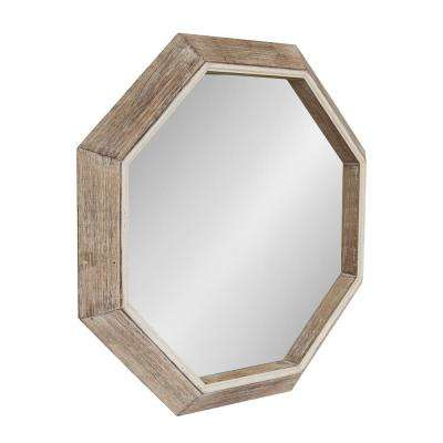 Yves Octagon Wall Mirror Other Natural