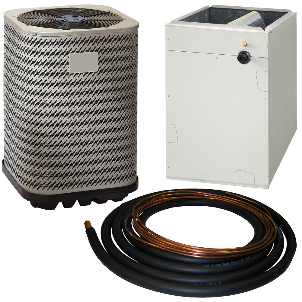 Whole house ac units - Kelvinator 4 Ton 13 Seer R 410a Split System Central Air Conditioning System