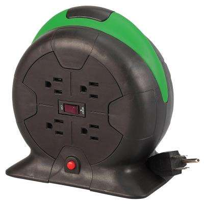 10 ft. 16/3 Auto-Rewind Extension Cord Reel