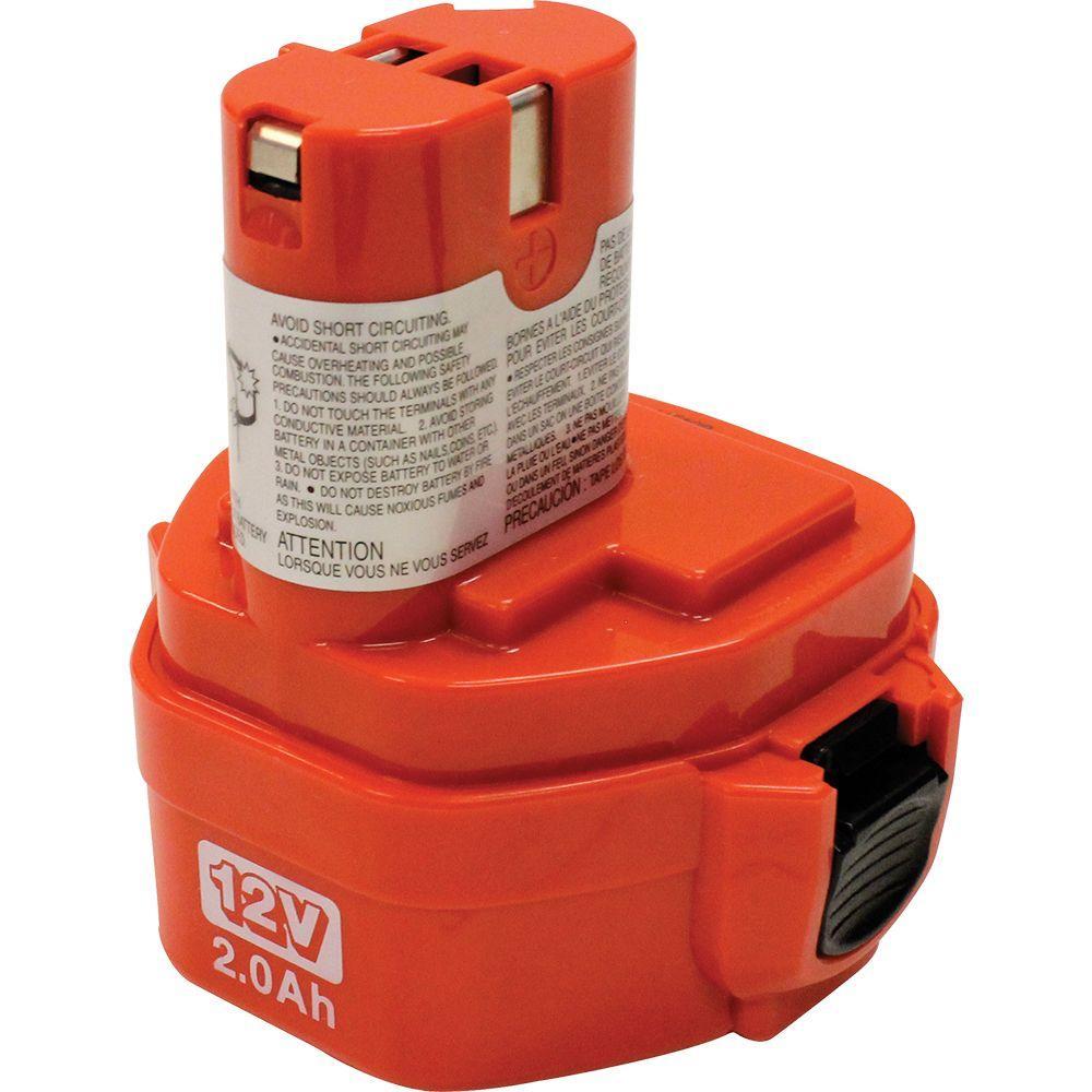 Makita 12-Volt 2.0Ah High Capacity Ni-Cd Pod Style Battery