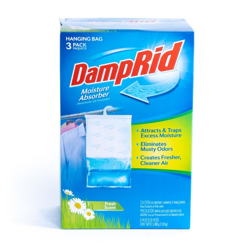 DampRid 14 oz. Fresh Scent Hanging Moisture Absorber (3-Pack)