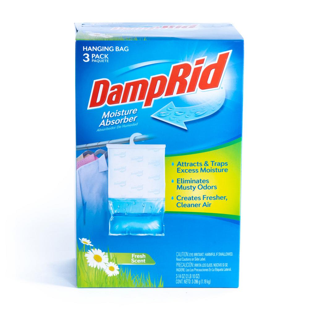 DampRid 14 Oz. Fresh Scent Hanging Moisture Absorber (3
