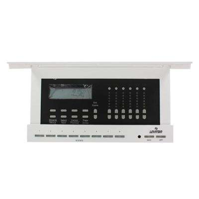 2400 -Watt 230 -Volt Multizone Controller and Dimmer, Self Contained Dimmer with 6 Local Zones, White
