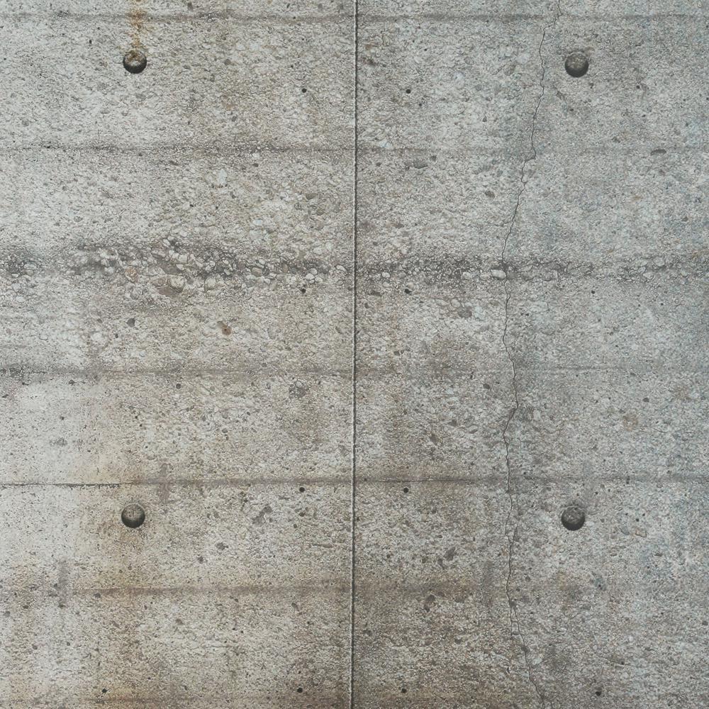 Komar-100 in. x 145 in. Concrete Blocks Wall Mural