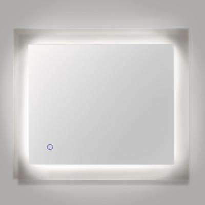 Royal 36 in. x 30 in. LED Wall Mounted Backlit Vanity Bathroom LED Mirror with Touch On/Off Dimmer