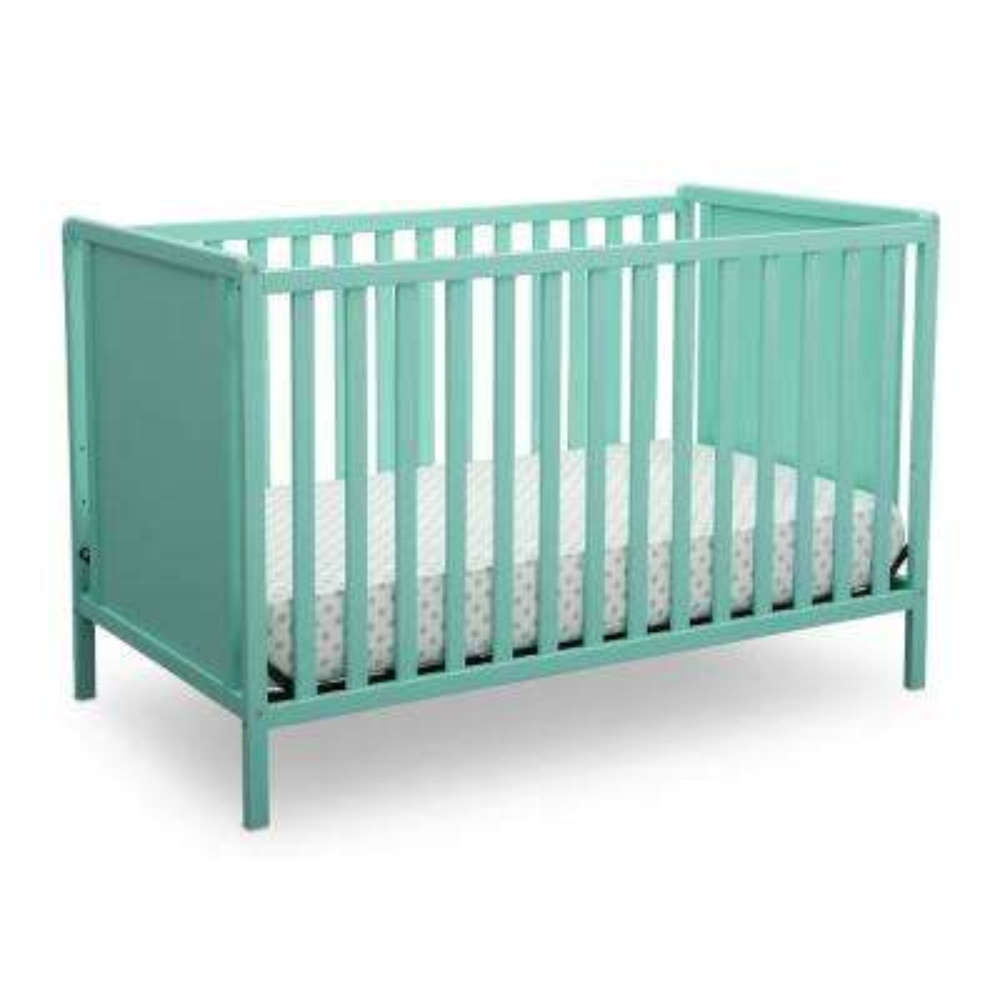 Heartland Classic 4-in-1 Aqua Convertible Crib