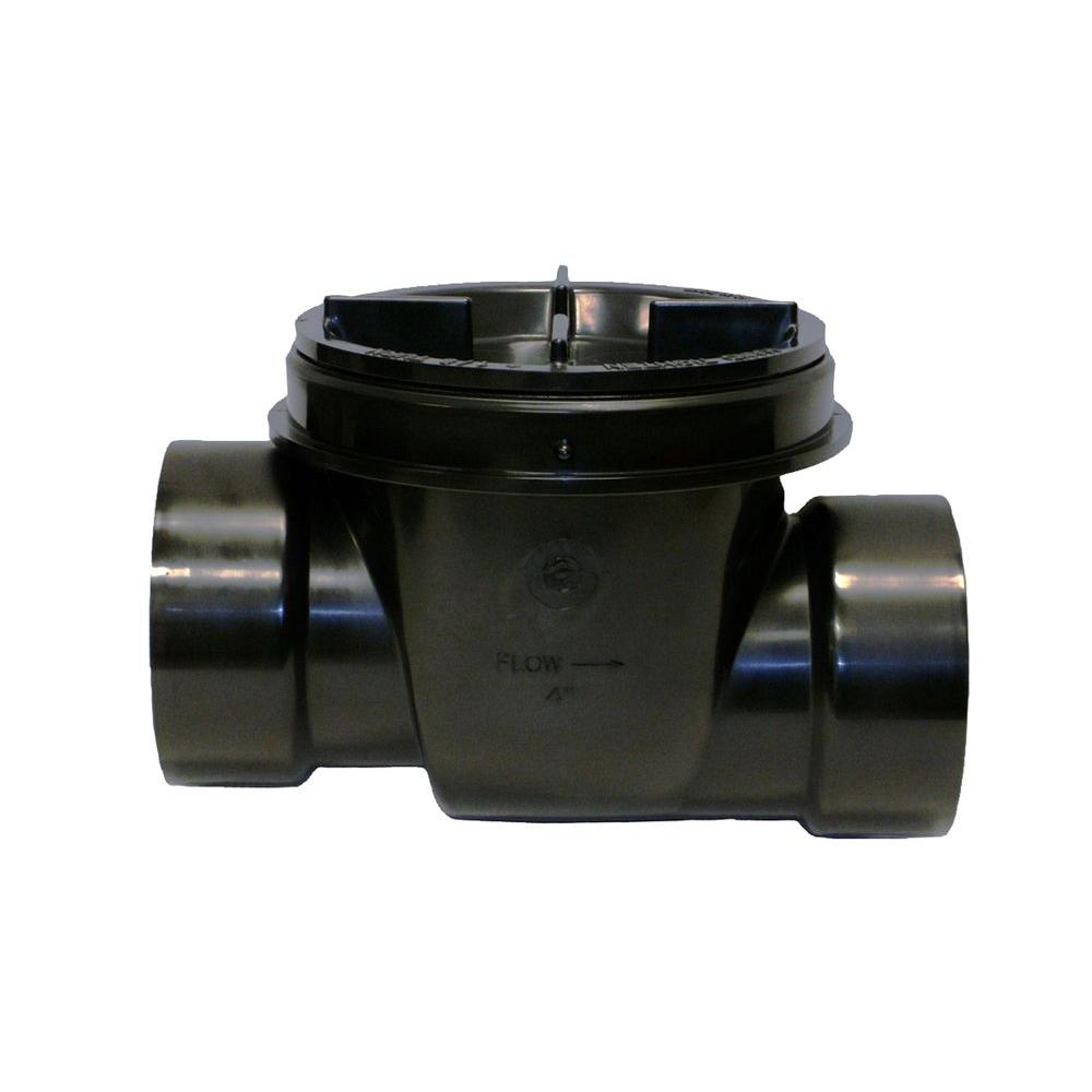 null 4 in. ABS Backwater Valve