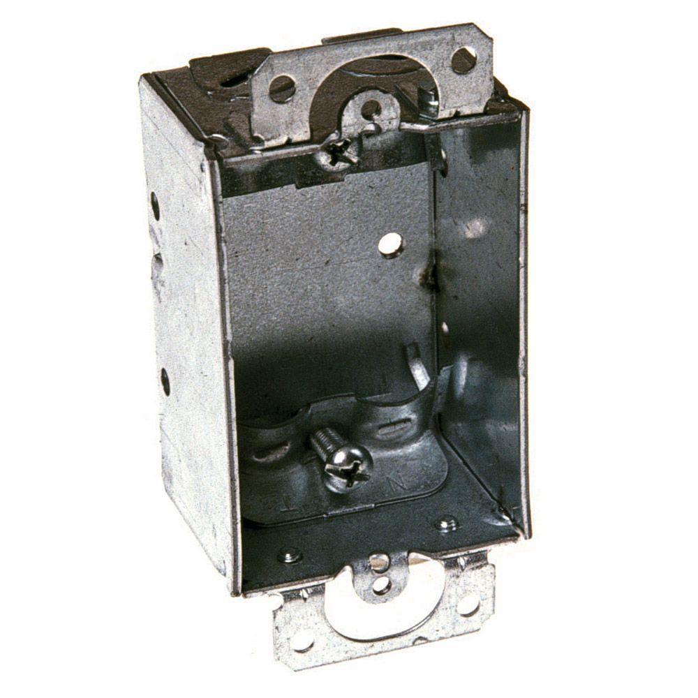 RACO 1-1/2 in. Deep Switch Box Gangable with Non-Metallic Sheathed ...