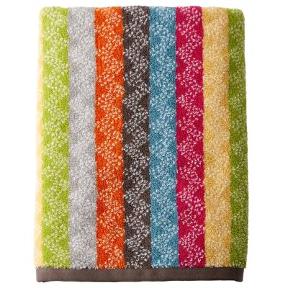 Ribbons Cotton Fingertip Towel (2-Pack)