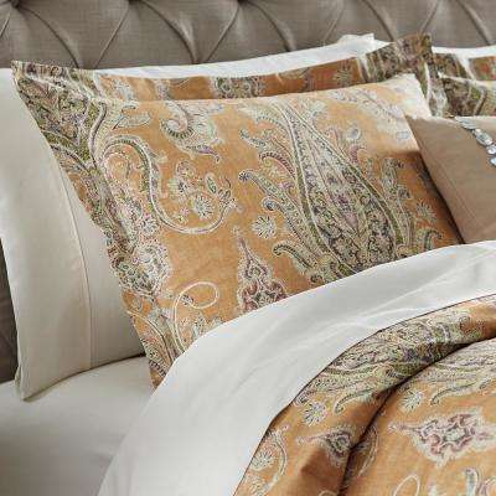 Karani Cognac Euro Pillow Sham