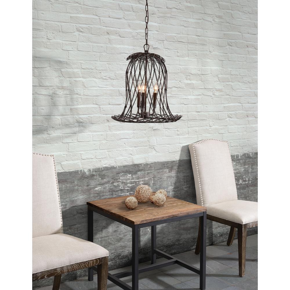 Chert Rust Ceiling Lamp