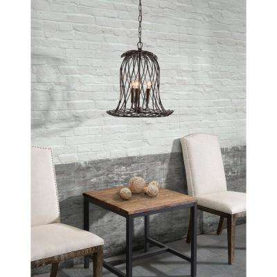 Chert Rust Ceiling Lamp