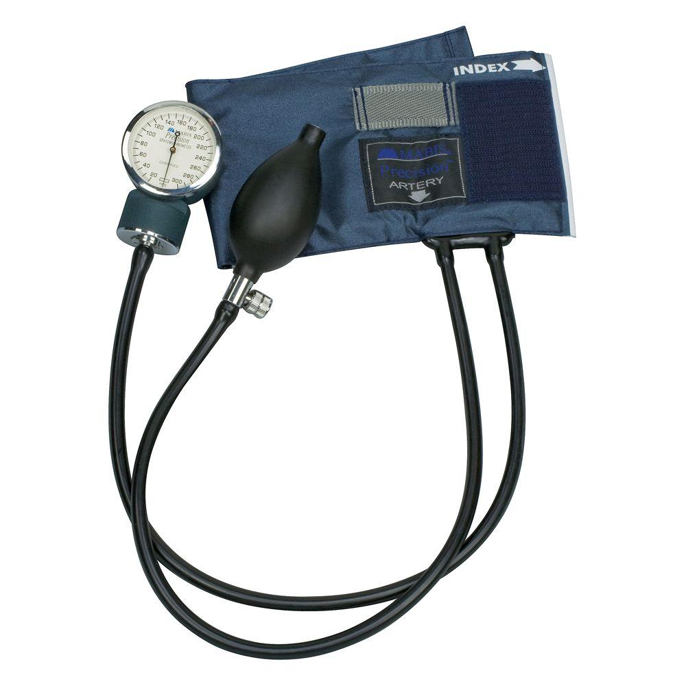 Precision, Aneroid Sphygmomanometers with Blue Nylon Cuff and Infant