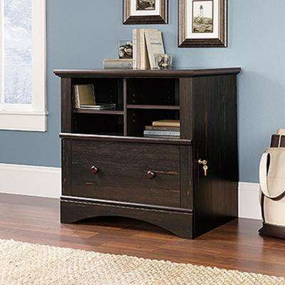 Harbor View Antiqued Paint File Cabinet