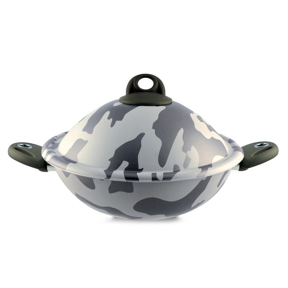 Army 4-Piece VapSi Wok/Steamer