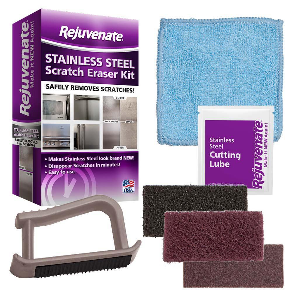 Stainless Steel Scratch Eraser Kit