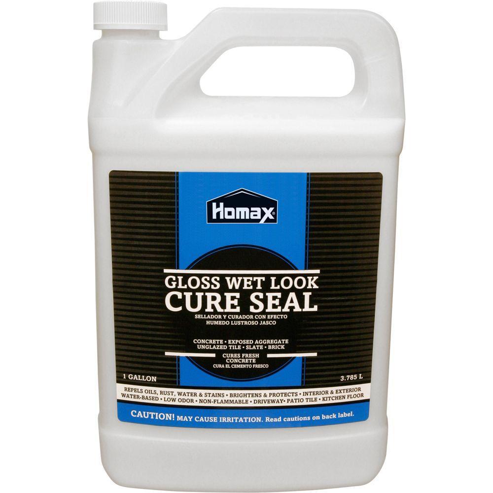 BEHR Premium Gal Wet Look Sealer The Home Depot - Behr wet look sealer high gloss
