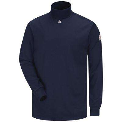 EXCEL FR Men's 3X-Large Navy Tagless Mock TurtleNeck