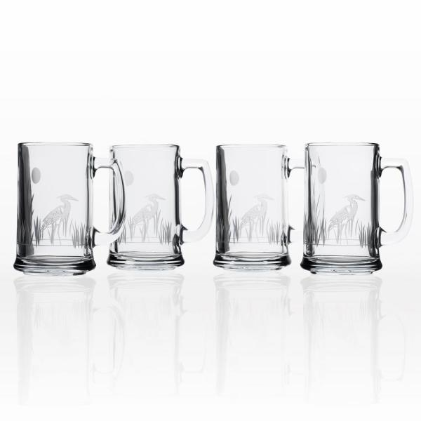 Badash Crystal Pair Of Galaxy 14 Oz Mouth Blown Hand Made Glass Beer Mugs K2012 The Home Depot