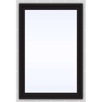 23.5 in. x 35.5 in. V-4500 Series Fixed Picture Vinyl Window in Black