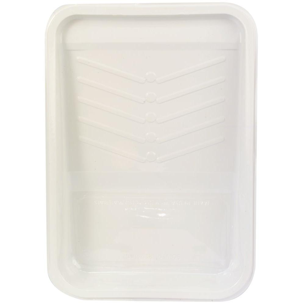 null 11 in. Plastic Deep Well Tray Liner