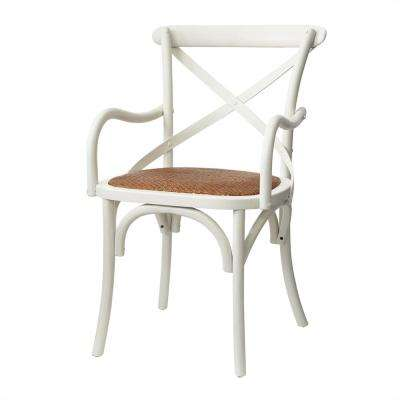 Hyde Ivory Cafe Dining Arm Chair