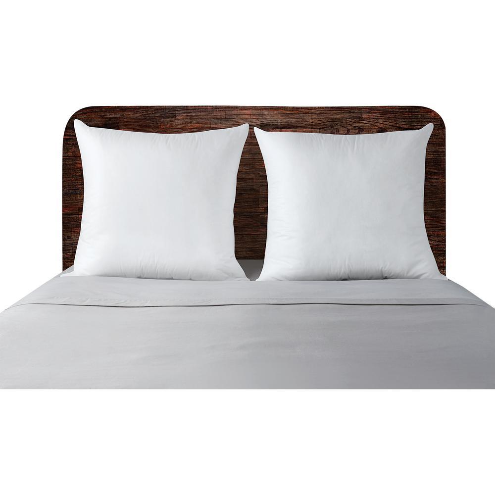 Cotton Hypoallergenic Down Alternative Euro Pillow (Set of 2)