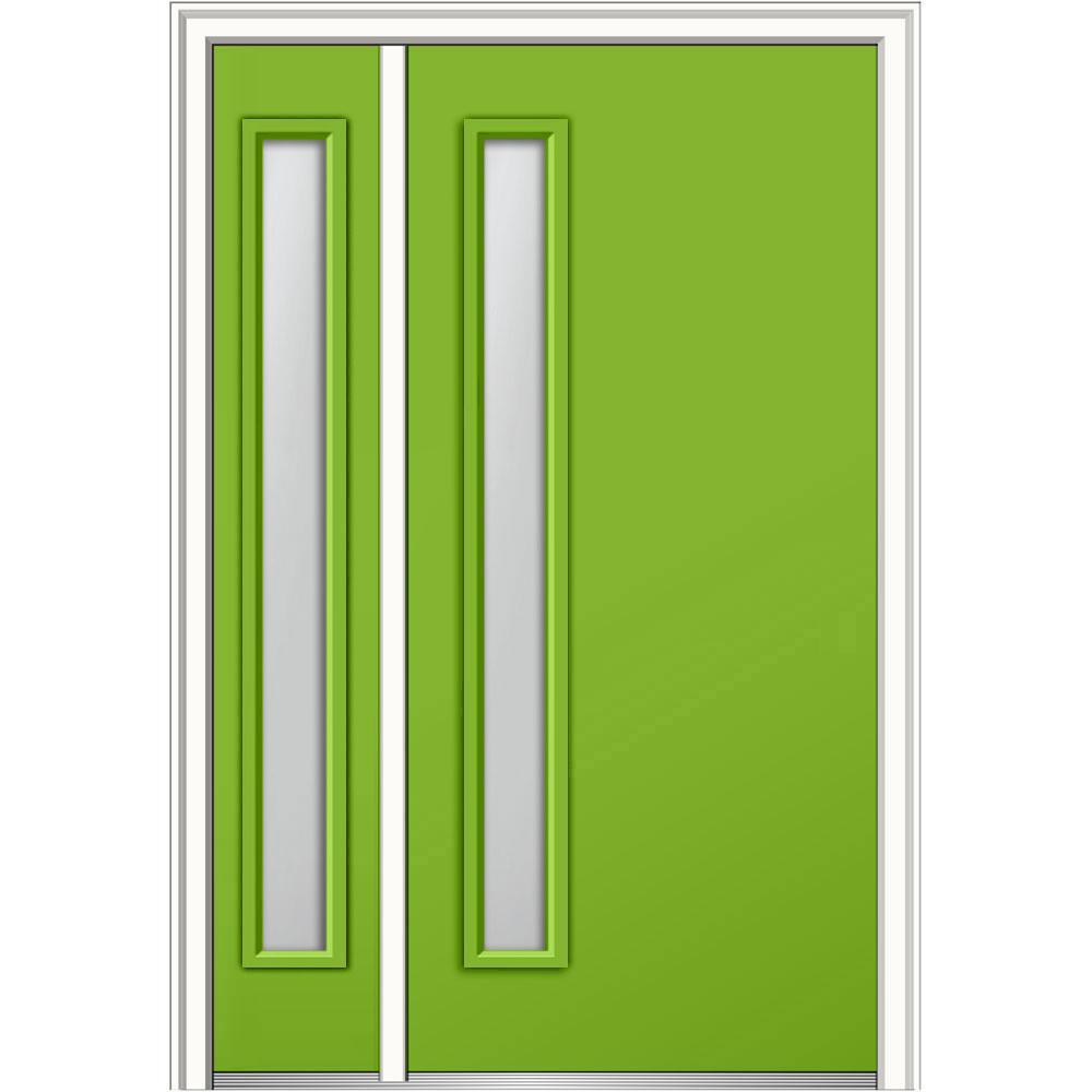 Green Front Doors Exterior Doors The Home Depot - Green front door