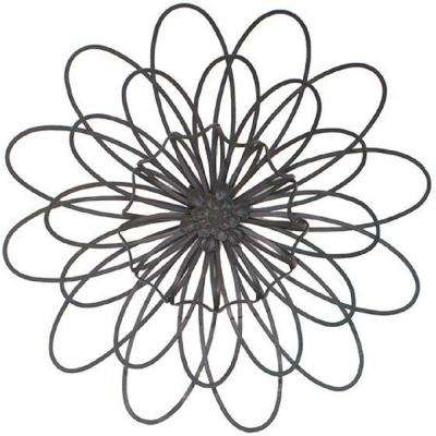 Fiore 21 in. W Dark Brown Wall Plaque