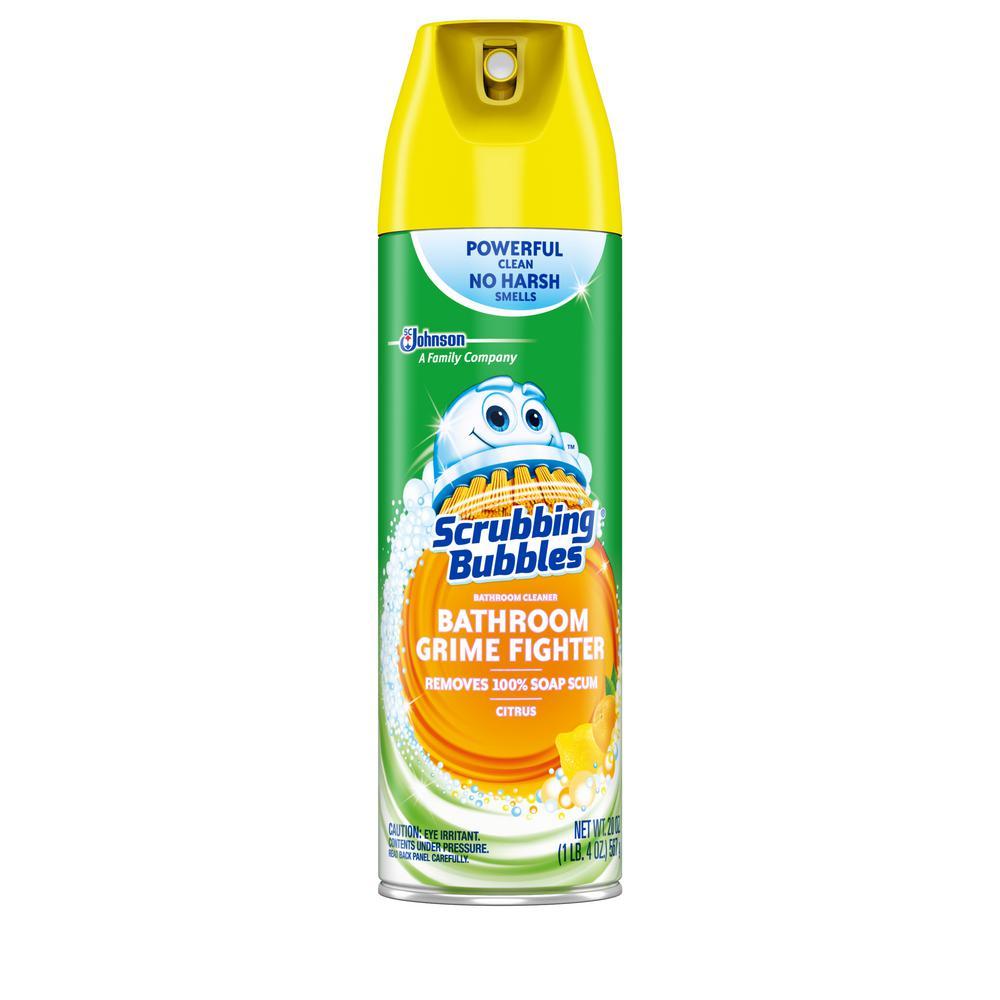 20 oz. Disinfectant Citrus Scent Bathroom Cleaner