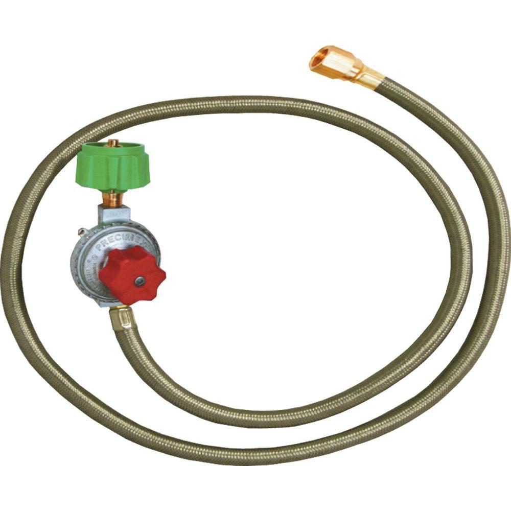 King Kooker High Pressure Adjustable Regulator with Type 1 Connection
