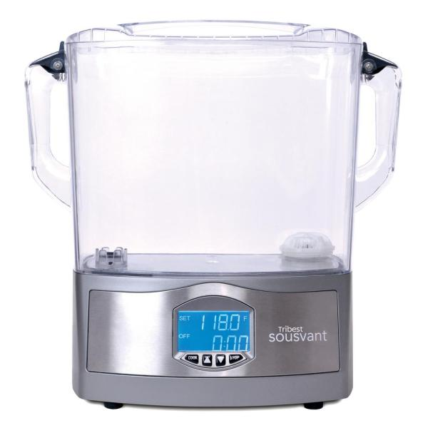 Sousvant 12 Qt. Sous Vide Stainless Steel Circulator Slow Cooker