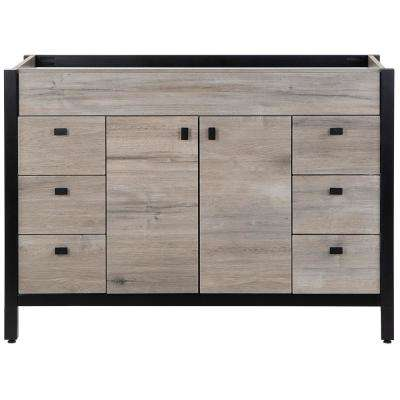 Greyford 48 in. W x 22 in. D Bathroom Vanity Cabinet Only in White Washed Oak
