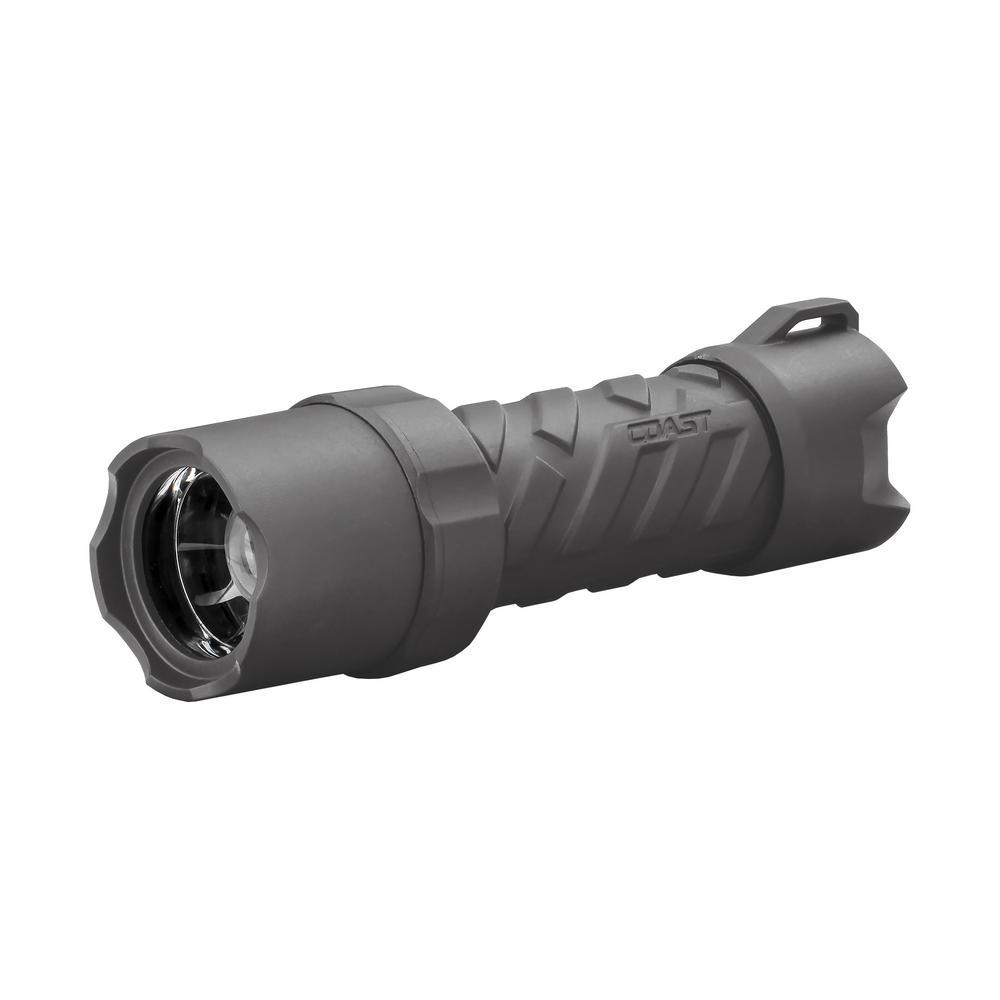 Polysteel 400R 400 Lumen Rechargeable Waterproof LED Flashlight with Twist Focus