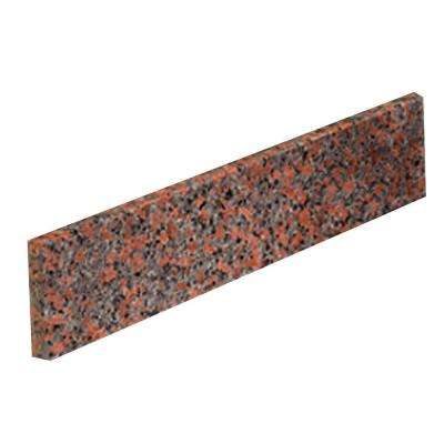 20 in. Granite Sidesplash in Terra Cotta