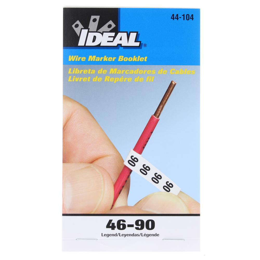 The Cheapest Price Lot Of 10 New Ideal 44-104 Wire Marker Booklets-legend-46-90 Conductive Wire Glue Pastes