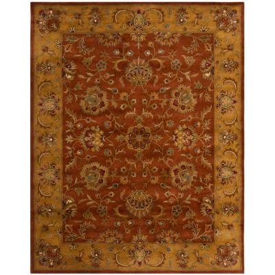 Heritage Red/Natural 9 ft. x 12 ft. Area Rug