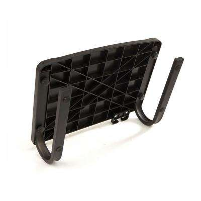 Monitor Stand Computer Riser With Metal Leg Support, Black