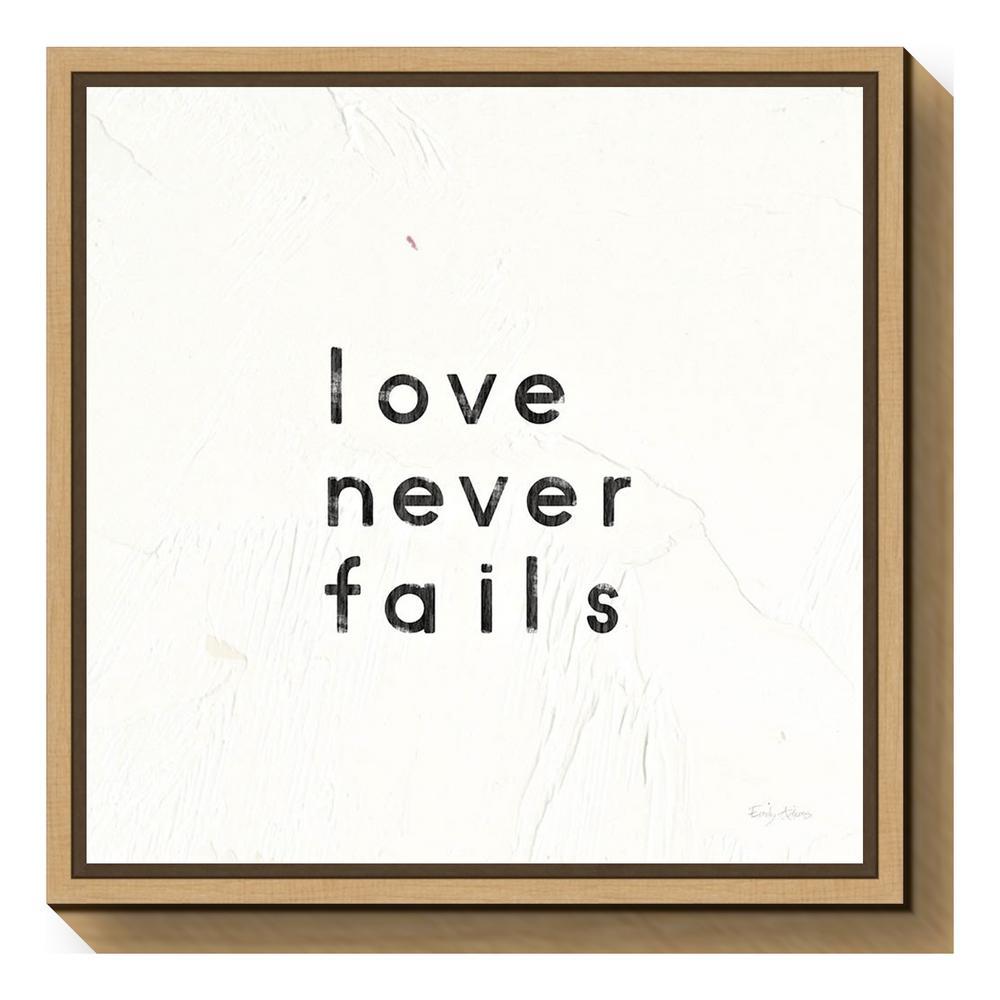 Light brown - Amanti Art - Words & Quotes - Canvas Art - Wall Art ...