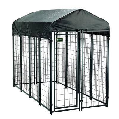 4 ft. x 8 ft. x 6 ft. Uptown Premium Steel Boxed Kennel Kit