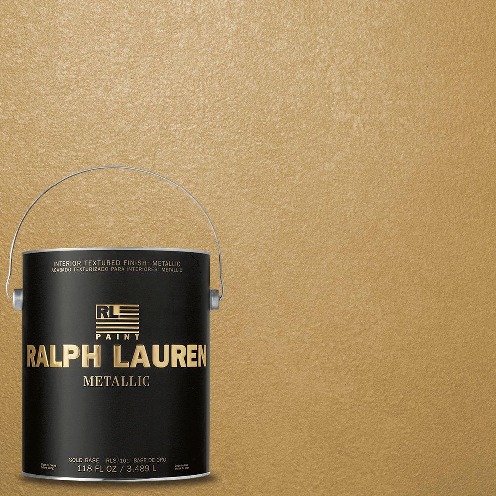 Ralph Lauren 1-gal. Golden Buttermilk Gold Metallic Specialty Finish Interior Paint