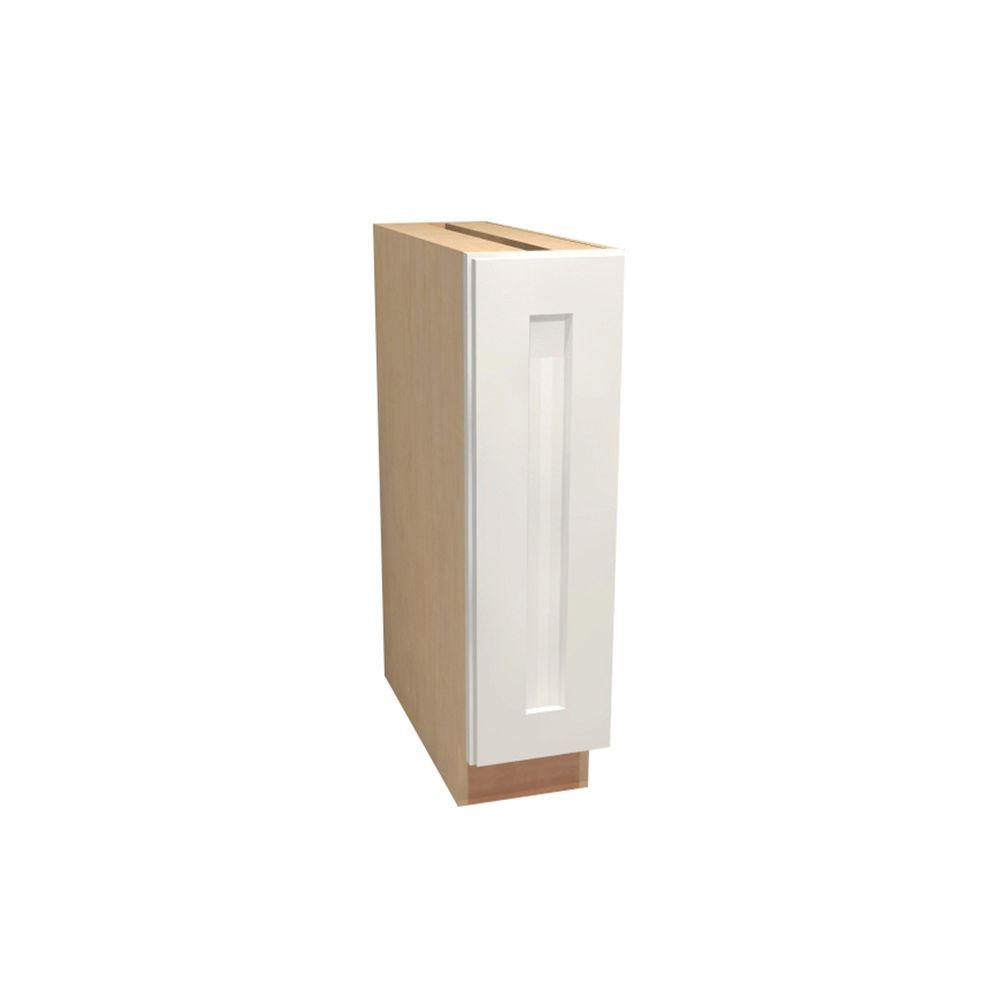 Home decorators collection newport assembled 12 in x 34 5 for White kitchen base cabinets