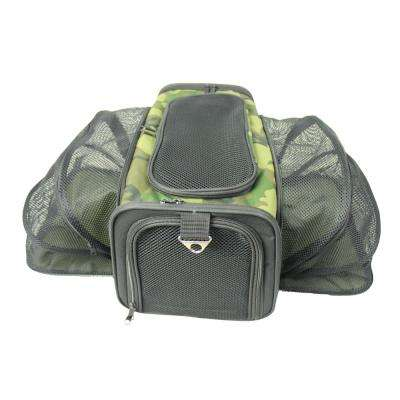 Camouflage Roomeo Folding Collapsible Airline Approved Pet Dog Carrier Crate