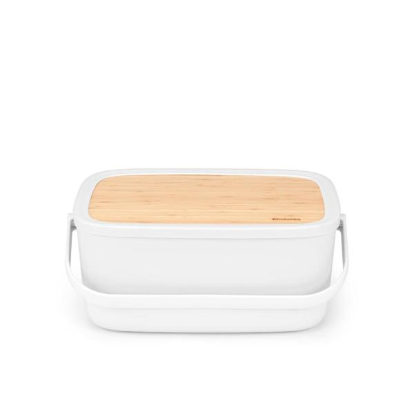 Nic Light Gray Bread Box
