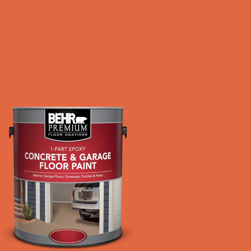 1 gal. #P190-6 Emergency Zone 1-Part Epoxy Concrete and Garage Floor Paint
