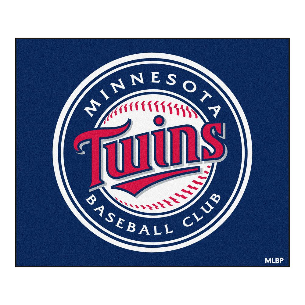 Minnesota Twins 5 ft. x 6 ft. Tailgater Area Rug