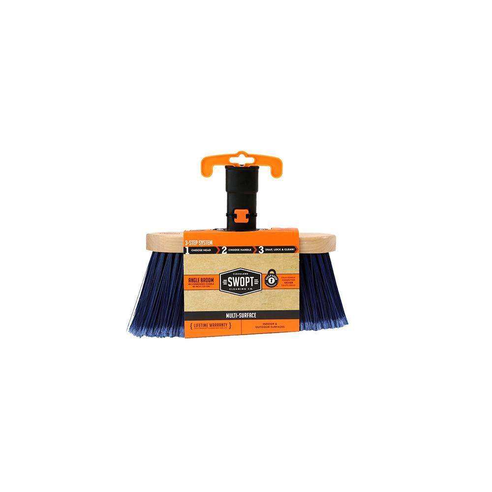 Premium Multi-Surface Angle Broom Head