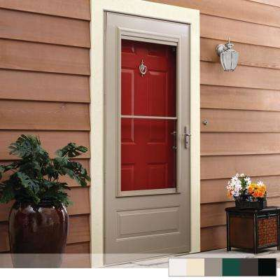 400 Series 3/4 View Self-Storing Aluminum Storm Door