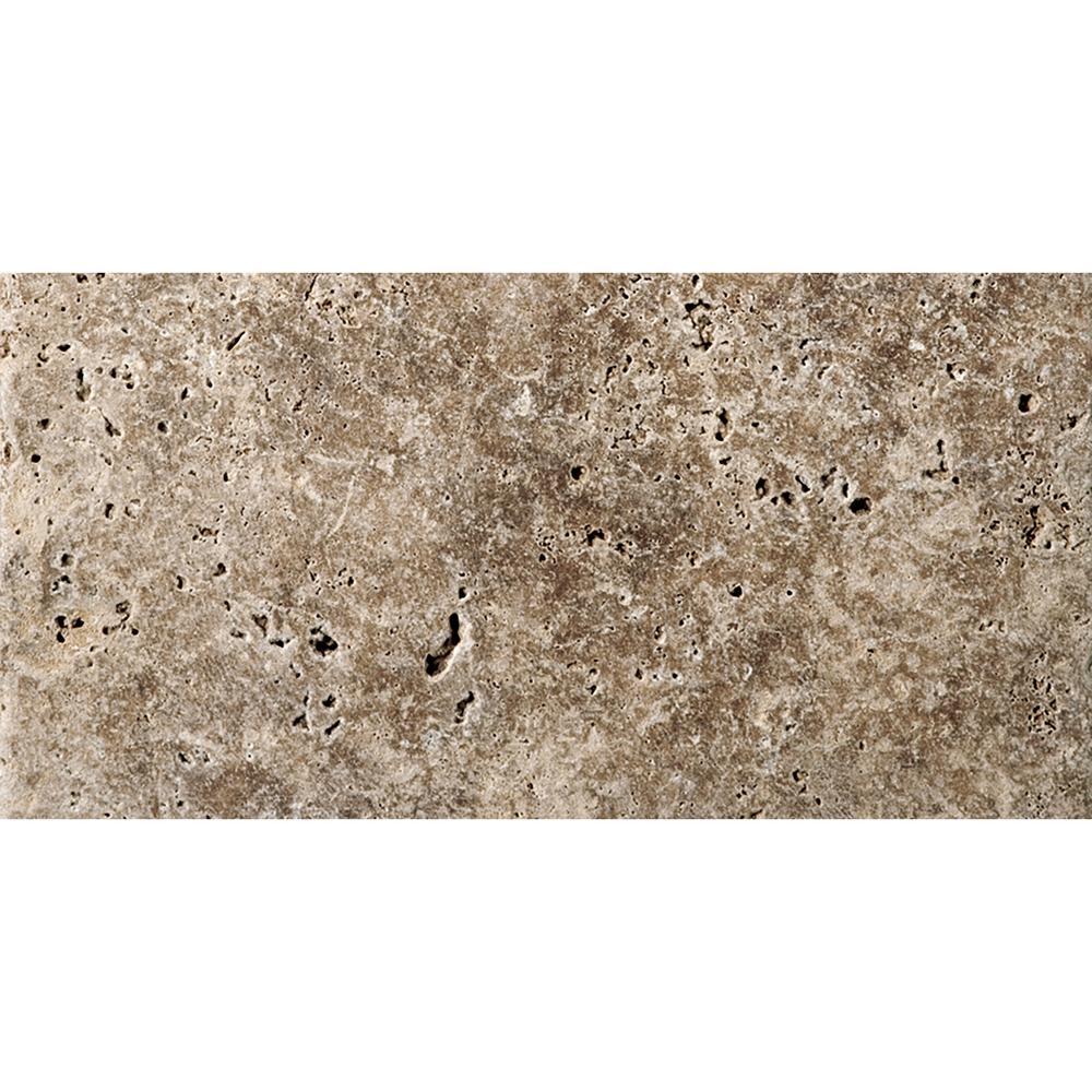 Trav Fontane Tumbled Walnut 2.91 in. x 5.87 in. Travertine Wall Tile