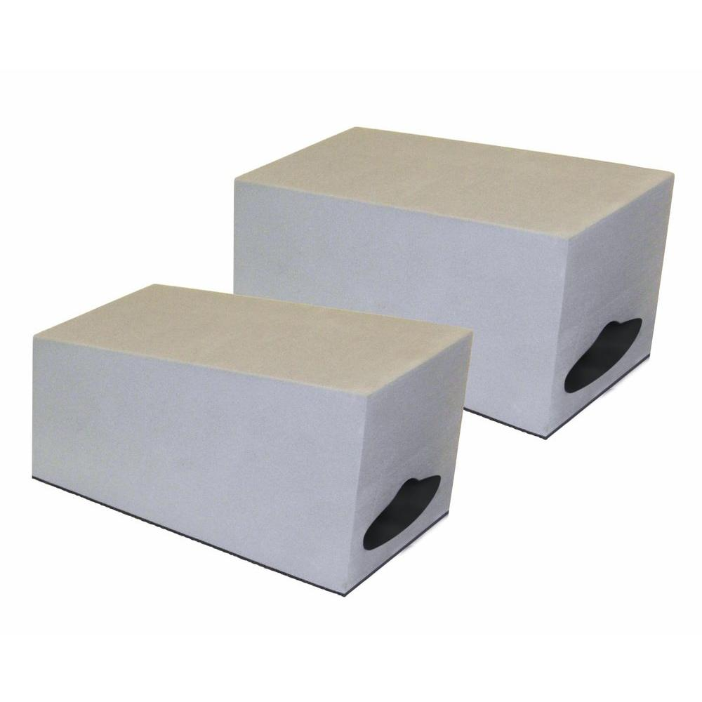 Sportrack replacement 2 cell foam kayak blocks sr5527r for Cement foam blocks